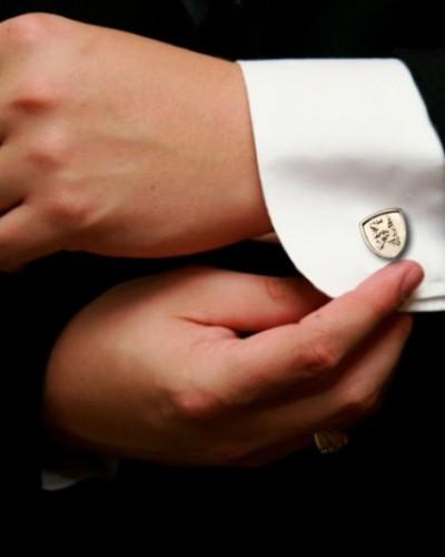925 Zilveren manchetknopen met leeuw €125,-