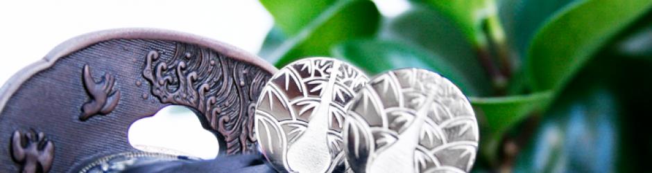 zilveren manchetknopen yushikan