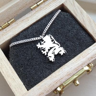 hanger zilver goud vlaamse leeuw ketting utrecht goudsmid lingdesign